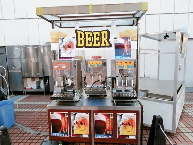 ビアガーデンビール