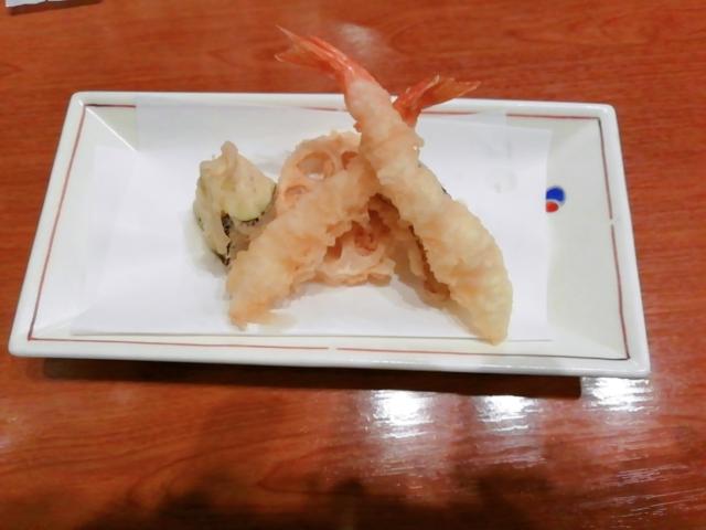 かごの屋限定店舗天ぷら1