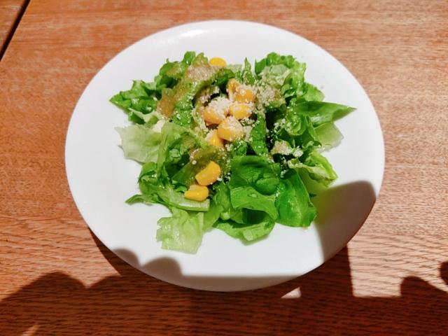 鎌倉パスタピザ食べ放題サラダ