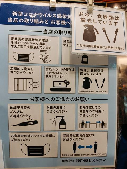 神戸屋コロナ対策