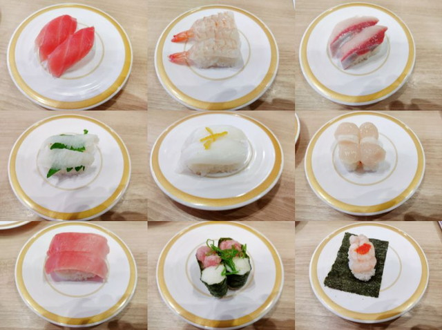 かっぱ寿司食べたもの3