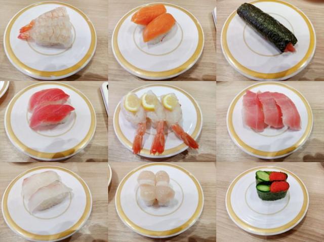 かっぱ寿司食べたもの5