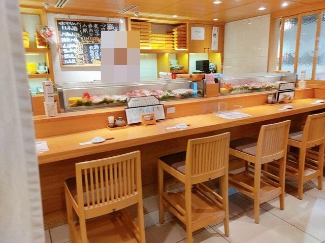 築地玉寿司内装3