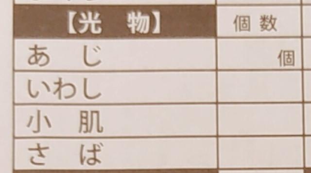 築地玉寿司食べ放題メニュー2