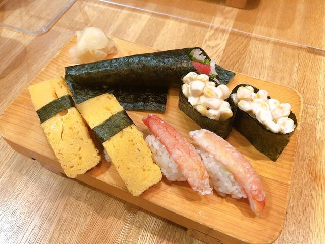 築地玉寿司食べ放題食べたもの10